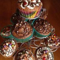 Cupcakes al ron