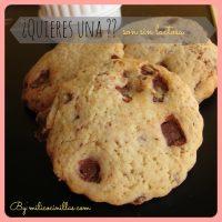 Cookies de vainilla con trocitos de chocolate Valor sin Lactosa