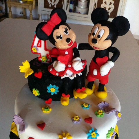 Tarta Mickey & Minnie