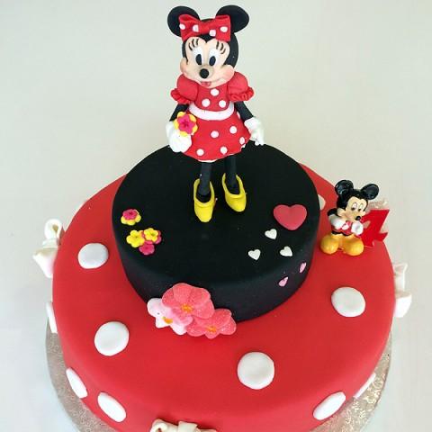 Tarta ratoncita Minnie