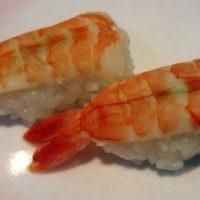 Sushi con gambas