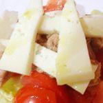 Ensalada de queso