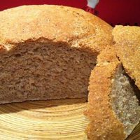 Pan rústico con harina de xeixa
