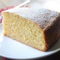 Pastel de queso y miel de Agave para diabéticos