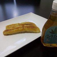 Plátanos flambeados con ron y miel de Agave