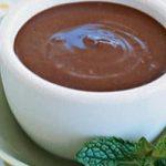 Pudin de chocolate con miel de Agave para diabéticos
