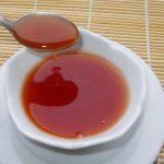 Salsa agridulce con miel de Agave para barbacoa