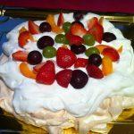 Pavlova de frutas
