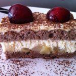 Plancha de peras y caramelo