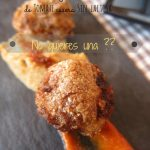 Albondigas de carne con salsa de tomate casera Sin Lactosa